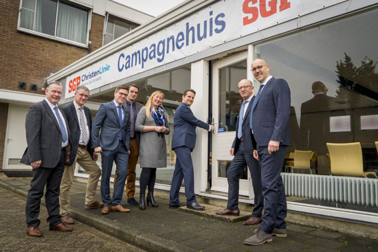 André Flach opent Campagnehuis SGP-ChristenUnie